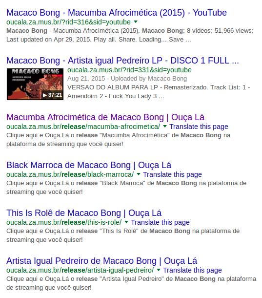 Ouça.Lá - Release - Marketing de Busca SEO/ SEM
