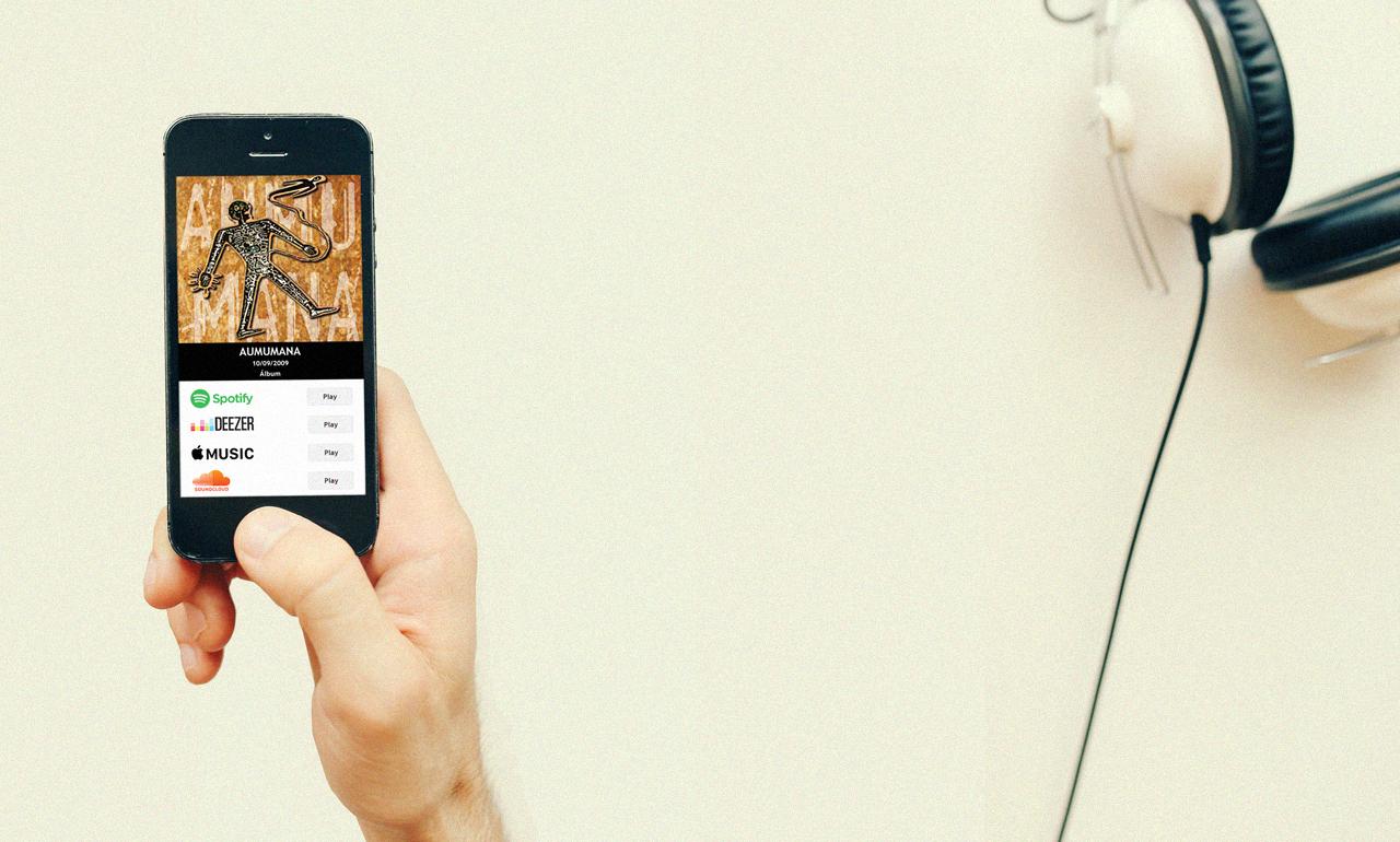 OuçaLá, Links Inteligentes para Divulgação de Música